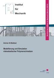 Modellierung und Simulation viskoelastischer Polymerschmelzen