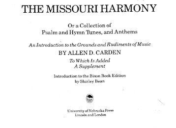 Allen Carden - The Missouri Harmony.pdf