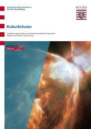 KulturSchulen - Kultur + Bildung Hessen