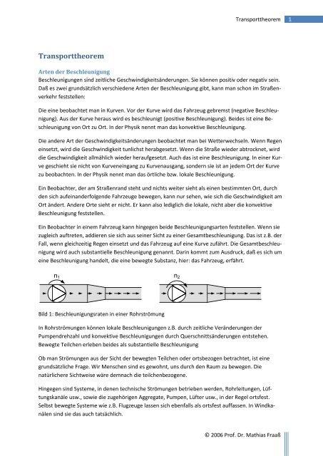 AB Transporttheorem