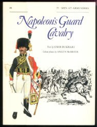 Men At Arms 083 - Napoleon's Guard Cavalry(Osprey Maa 83).pdf
