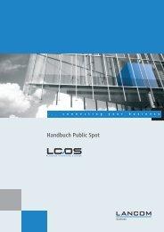Handbuch Public Spot - LANCOM Systems