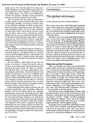 The Global Adversary - Executive Intelligence Review