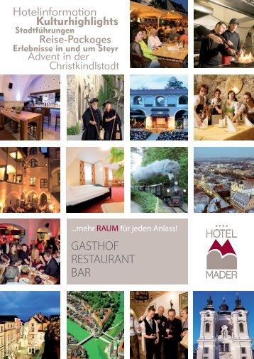 GASTHOF RESTAURANT BAR - Hotel Mader