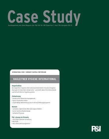Case Study Hagleitner - P&I Personal & Informatik AG