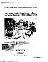Centralized Lubrication Chassis Systems for Trucks, Buses or Off ...