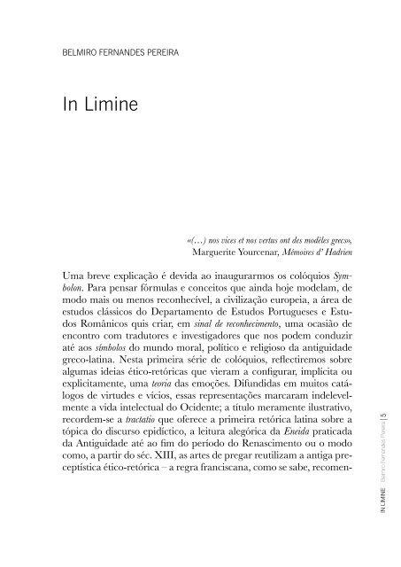 In Limine - Universidade do Porto