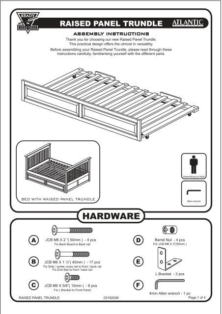 AI Trundle Bed 801.cdr