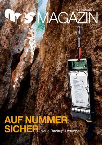 Auf NuMMER sichER - bei MCS Moorbek Computer Systeme GmbH