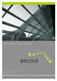 Systemvoraussetzungen ProjectCity - Decisio