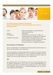 Case-Study (PDF) - P+M Business Solutions GmbH