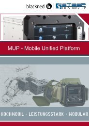 MUP – Mobile Unified Platform Broschüre - steep GmbH