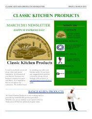 HAPPY ST PATRICKS DAY! - Classic Kitchen Products
