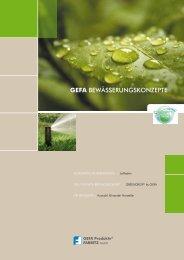 gefa greendrop - GEFA Produkte Fabritz GmbH