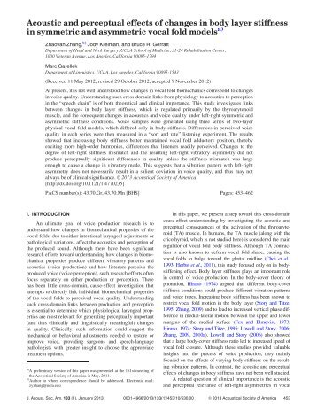 Acoustic and perceptual effects of changes in body layer stiffness in ...