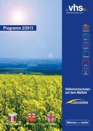 Download Programm 2. Halbjahr 2013 (ca. 4 MB)
