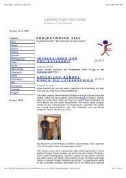Online-Zeitung - Lutherschule - Macbay.de