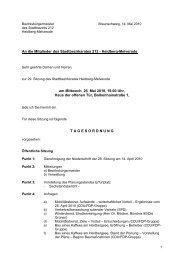 Tagesordnung - Braunschweig