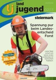 Steiermark - Ausgabe 02/2013 - Landjugend Österreich