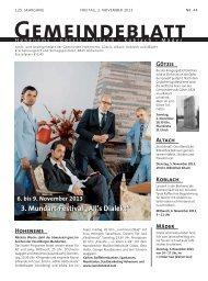 GBM2013 Woche 44 - Gemeinde Mäder