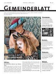 GBM2012 Woche 14 - Gemeinde Mäder