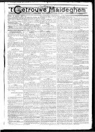 Zondag 16 Januari 1898. OUDE JUFVROUW.