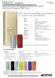 FAB32C cream - Appliances Online