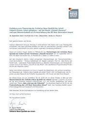 Einladung zum Thementag der Initiative Neue Qualität der Arbeit ...