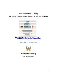 Dossier Teil 1 - Mathematik