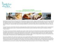 Florida Keys Cuisine: WTM 2013 Fresh Seafood, Cuban ... - Cision