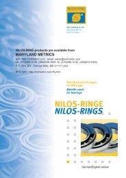 NILOS-RINGE NILOS-RINGS - Maryland Metrics