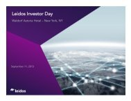 Leidos Investor Day