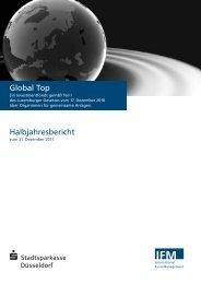 Global Top, Halbjahresbericht - fundinfo.com