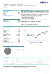 Baloise Fund Invest (Lux) - BFI Capital Protect (CHF) - fundinfo.com
