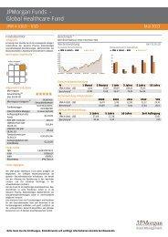 JPM Global Healthcare - fundinfo.com