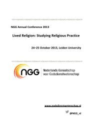 Lived Religion: Studying Religious Practice