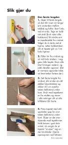 Tapetsering En veiledning for deg som gjør det selv - Page 6