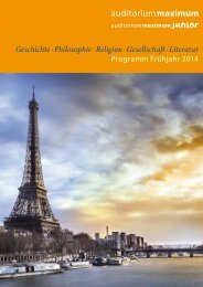 Geschichte · Philosophie · Religion · Gesellschaft · Literatur - WBG