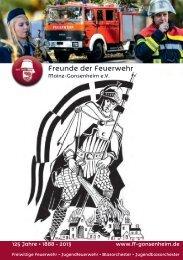 Freunde der Feuerwehr Mainz-Gonsenheim e.V. – 125 Jahre