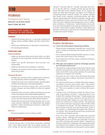 PSORIASIS - McGraw-Hill Professional