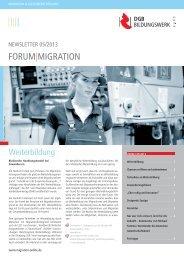FORUM MIGRATION - Migration-online