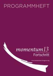 Download hier - Momentum Kongress