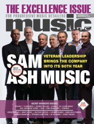 veteran leadership brings the company into its 90th year - Music Inc ...