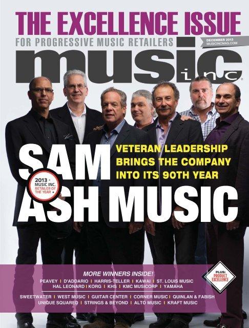 veteran leadership brings the company into its 90th year - Music Inc ...