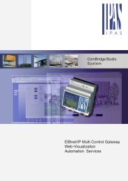 EIBnet/IP Multi Control Gateway Web-Visualization Automation Services