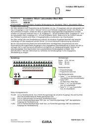 instabus EIB System Aktor Schaltaktor 16fach / Jalousieaktor 8fach ...