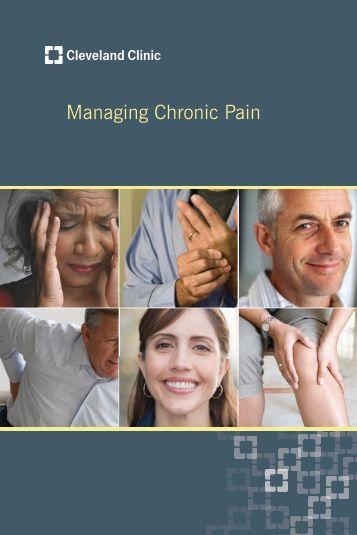 Managing Chronic Pain - Cleveland Clinic