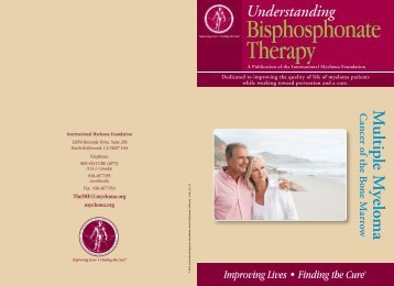 Understanding Bisphosphonate Therapy Click Icon to View PDF