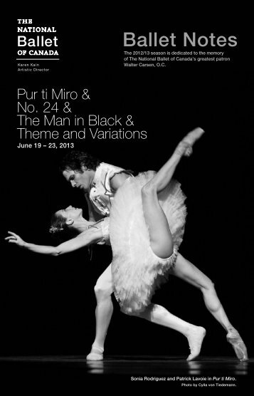 Pur ti Miro - The National Ballet of Canada