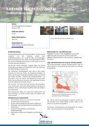 krayner teiche/lutzketal - NABU-Stiftung Nationales Naturerbe